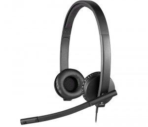 Logitech H570e Stereo Headset USB 981-000575