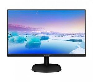 Philips Monitor 23.8 243V7QDSB IPS DVI HDMI Czarny