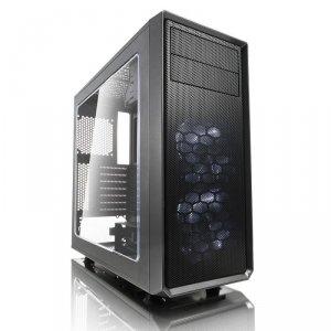 Fractal Design Focus G Window Gunmetal GRAY 3.5'HDD/2.5'SDD uATX/ATX/ITX