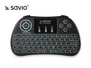 Elmak Klawiatura bezprzewodowa Android TV Box, Smart TV, PS3, XBOX360, PC SAVIO KW-01