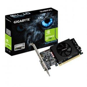 Gigabyte Karta graficzna GeForce GT710 2GB DDR5 64BIT DVI/HDMI/Low Profile