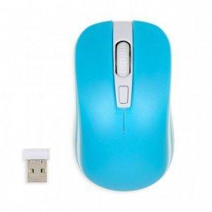 iBOX Mysz Loriini Pro optyczna bezprzewodowa Niebieska