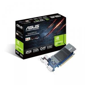 Asus Karta graficzna GeForce GT 710 2GB GDDR5 64BIT DVI-D/HDMI/D-Sub