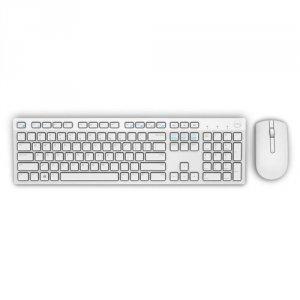Dell Bezprzewodowa klawiatura + mysz-KM636 (biały)