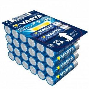 Varta Baterie alkaliczne VARTA R6 (AA) 24 sztuk HIGH ENERGY