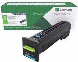 Lexmark Toner CS820 cyan 8k 72K20C0