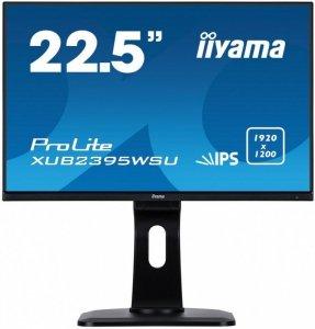 IIYAMA Monitor 22.5 XUB2395WSU-B1 IPS,PIVOT,1920x1200,DP,HDMI