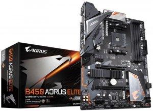 Gigabyte Płyta główna B450 AORUS ELITE AM4 4DDR4 DVI/HDMI/M.2 ATX