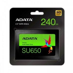 Adata Dysk SSD Ultimate SU650 240G 2.5 S3 3D TLC Retail