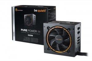 Be quiet! Zasilacz Pure Power 11 500W 80+ GOLD S.MODU BN297