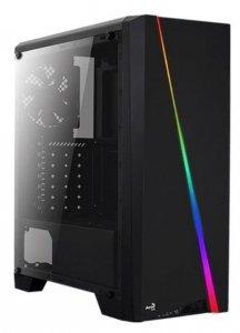 AeroCool Obudowa CYLON USB 3.0 Czarna GLASS RGB