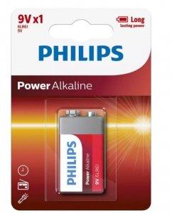 Philips Bateria Power Alkaline 9V 1szt. blister (LR61)