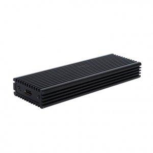 i-tec Obudowa zewnętrzna na dysk M.2 MySafe  M-Key NVME SSD z interfejsem USB-C 3.1 Gen.2, transfer do 10 Gbps. aluminiowa