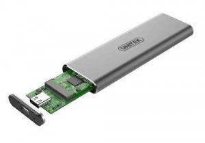 Unitek Obudowa USB3.1 Gen2 Typ-C - M.2 SSD PCIe/NVMe; S1201A
