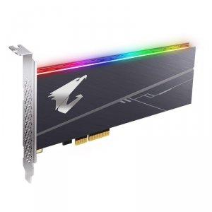 Gigabyte Dysk SSD AORUS RGB AIC 1TB PCIe NVMe 3480/3080MB/s