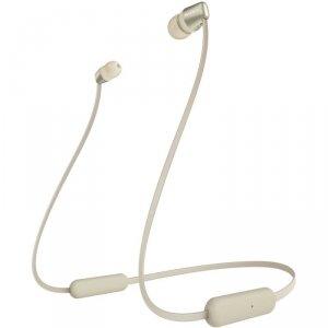 Sony Słuchawki bezprzewodowe douszne WI-C310 zlote