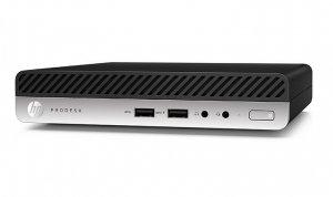 HP Inc. Komputer ProDesk 405DM G4 R3-2200GE 256/8GB/W10P     6QR97EA
