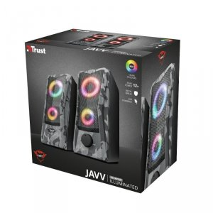 Trust Głośniki GXT 606 JAVV 2.0 RGB Podświetlane