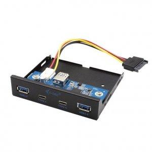 i-tec Panel przedni wewnętrzny USB USB-C / USB 3.0