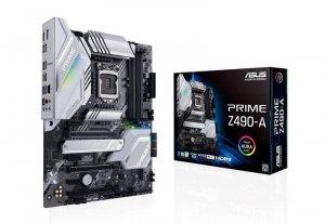 Asus Płyta główna PRIME Z490-A s1200 4DDR4 HDMI/DP M.2 USB3.2 ATX
