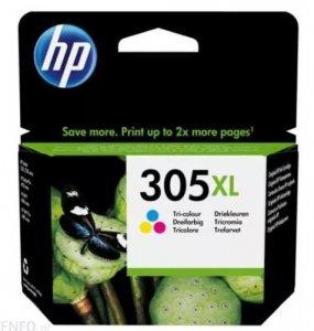 HP Inc. Tusz nr 305XL Kolor 3YM63AE wkład do drukarki atramentowej