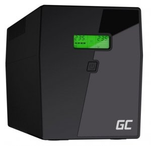 Green Cell Zasilacz awaryjny UPS 1500VA 900W Power Proof