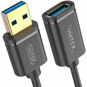 Unitek Przedłużacz USB 3.1 gen 1, 3M, AM-AF; Y-C4030GBK