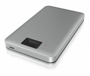 IcyBox IB-246FP-C3 Obudowa 2,5 cala z czytnikiem odcisków palca