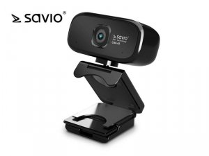 Elmak Kamera Internetowa USB HD SAVIO CAK-03 z mikrofonem, 1280x720