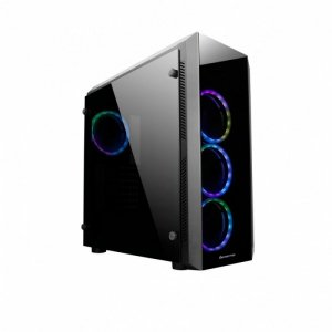 Chieftec Obudowa GL-02B-OP Scorpion II Mid Tower 4xRGB fan