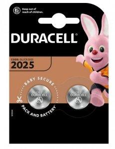 Duracell Bateria litowa CR2025 blister 2szt