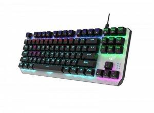 AULA Gaming Aegis Mechaniczna klawiatura dla graczy TKL (niebieskie przełączniki)