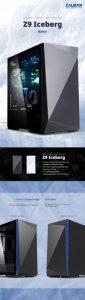 Zalman Obudowa Z9 Iceberg ATX Mid Tower PC Case Black