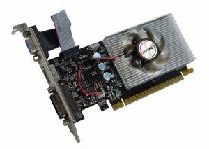 AFOX Karta graficzna - Geforce GT220 1GB DDR3 64Bit DVI HDMI VGA LP