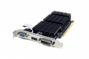 AFOX Karta graficzna Geforce GT710 2GB DDR3 64Bit DVI HDMI VGA LP