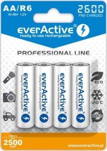 everActive Akumulatory paluszki R6/AA 2600 mAH, blister 4 szt.