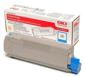 OKI Toner C5600 / C5700 Cyan (2k)