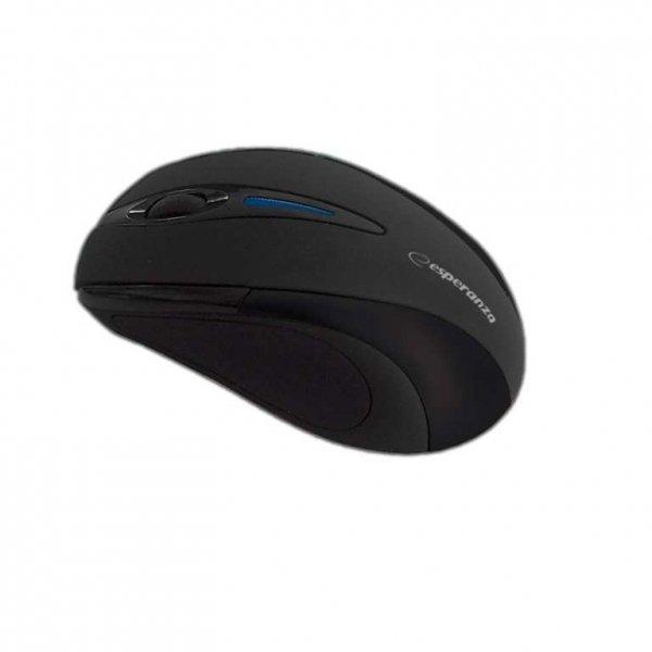 Esperanza Bezprzewodowa Mysz optyczna EM101K USB, 2,4 GHz, NANO odbiornik