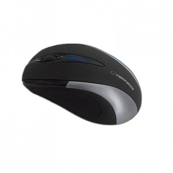 Esperanza Bezprzewodowa Mysz optyczna EM101S USB, 2,4 GHz, NANO odbiornik