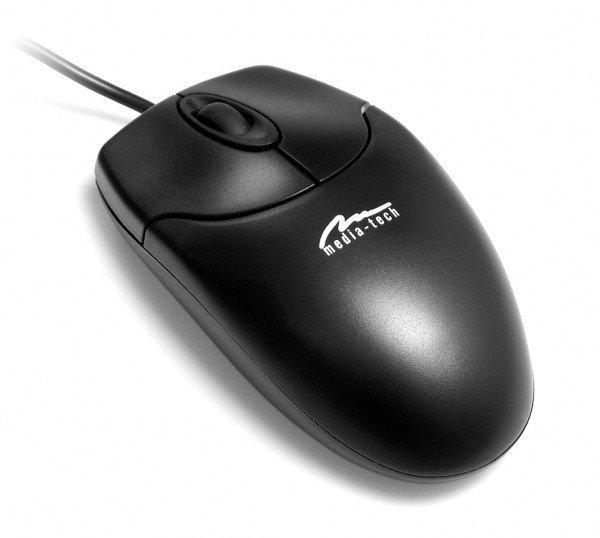 Media-Tech Standard. mysz optyczna 800 cpi, interfejs PS/2