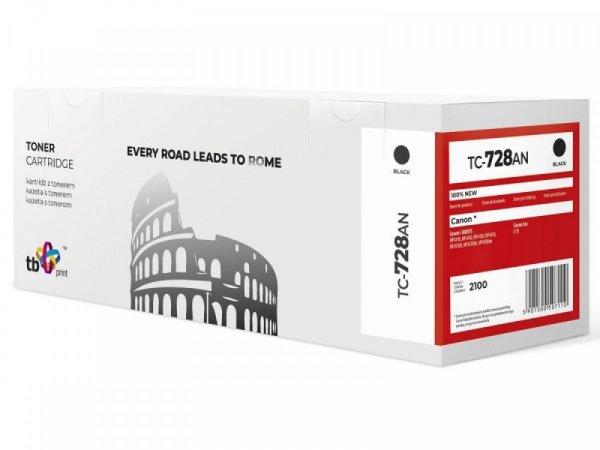 TB Print Toner do Canon  MP4400 TC-728N BK 100% nowy