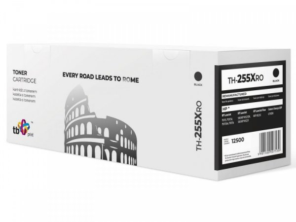 TB Print Toner do HP P3015 X TH-255XRO BK ref.
