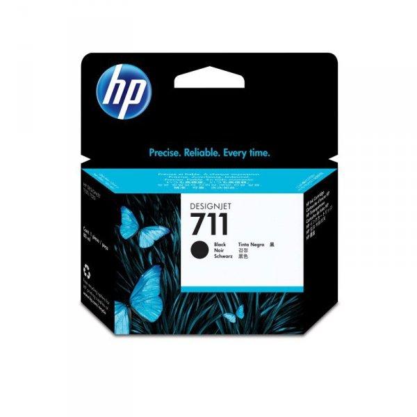 HP Inc. Tusz 711 80ml Black CZ133A