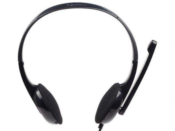 Gembird Słuchawki z mikrofonem MHS-002 Czarne