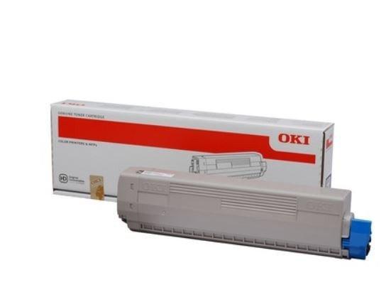 OKI Toner do C831/841 BLACK 10k 44844508