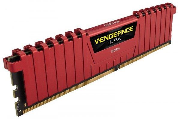 Corsair DDR4 Vengeance LPX 16GB/2400(2*8GB) CL14-16-16-31 RED 1,20V