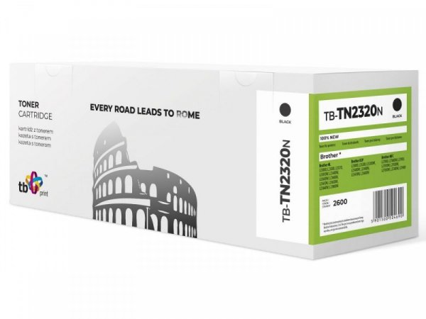 TB Print Toner do Brother TN2320N BK 100%nowy TB-TN2320N