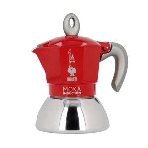 Bialetti New Moka Induction 2tz Czerwona