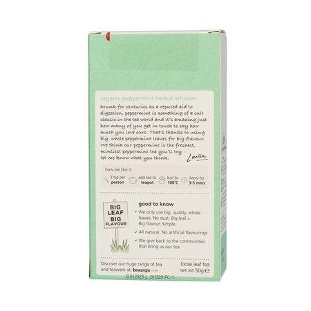 teapigs Peppermint Organic - herbata sypana 50g