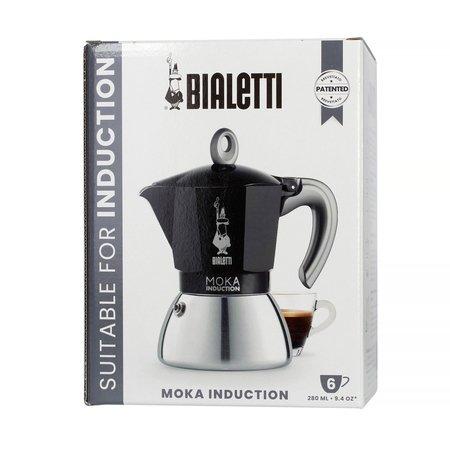 Bialetti New Moka Induction 6tz Czarna